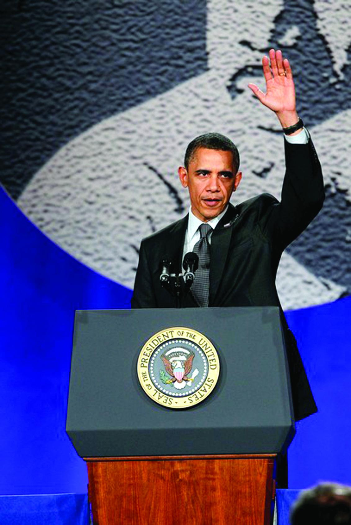 Obama anuncia candidatura para reelección