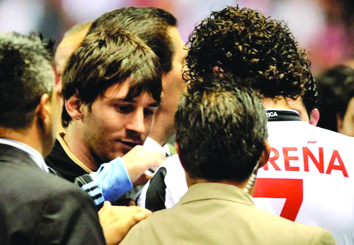 Messi no estaba lesionado