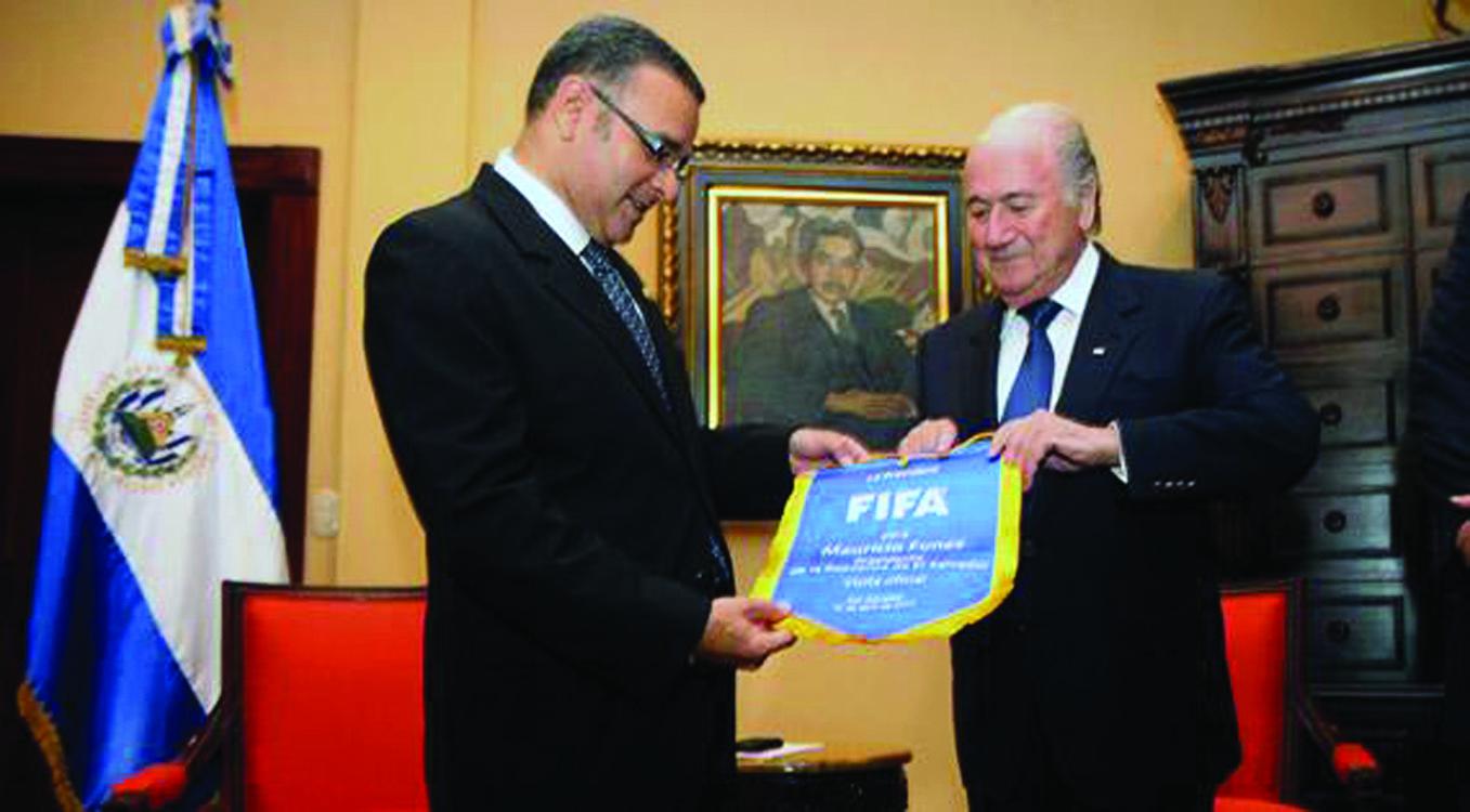 Presidente de FIFA en Centroamérica