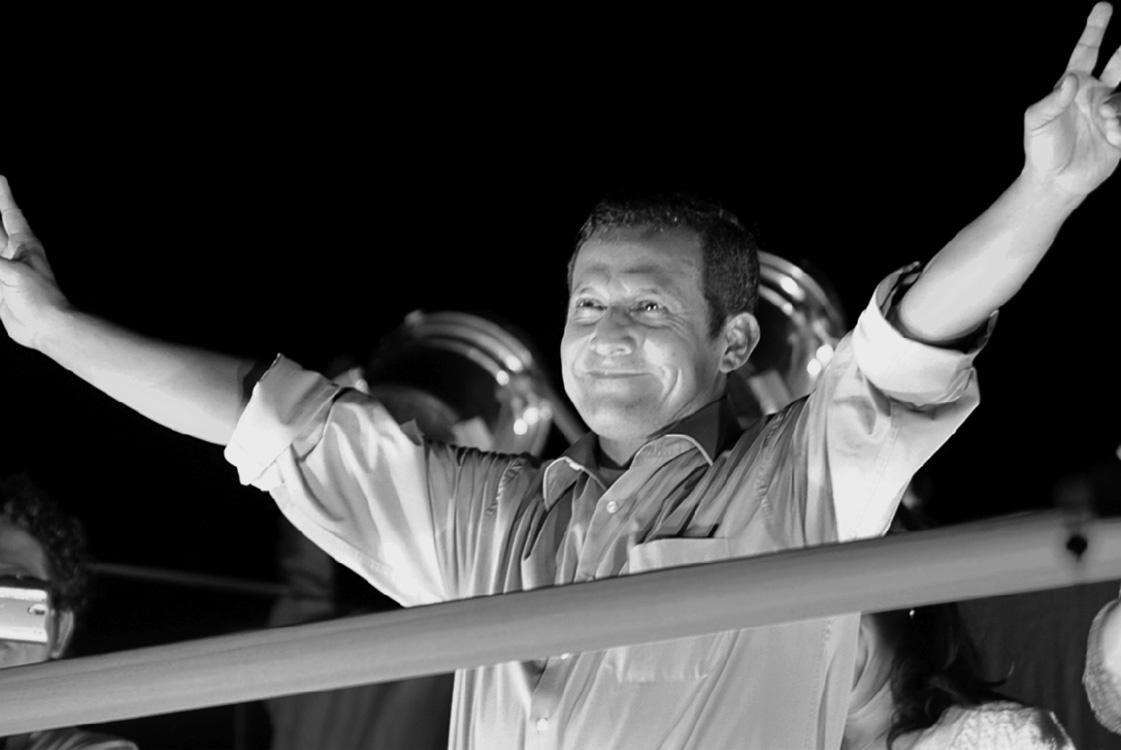 Humala y Fujimori a segunda vuelta en Perú