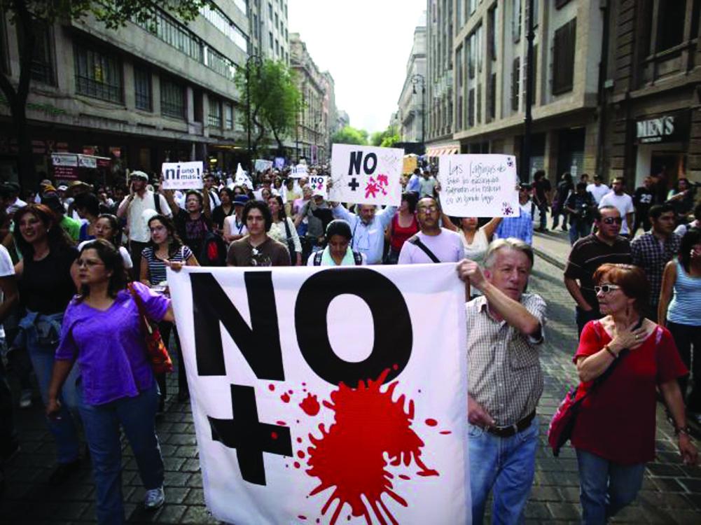 Nuevas protestas contra violencia en México