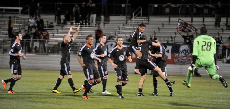 DC United derrotó 4-2 a Philadelphia en Copa Abierta