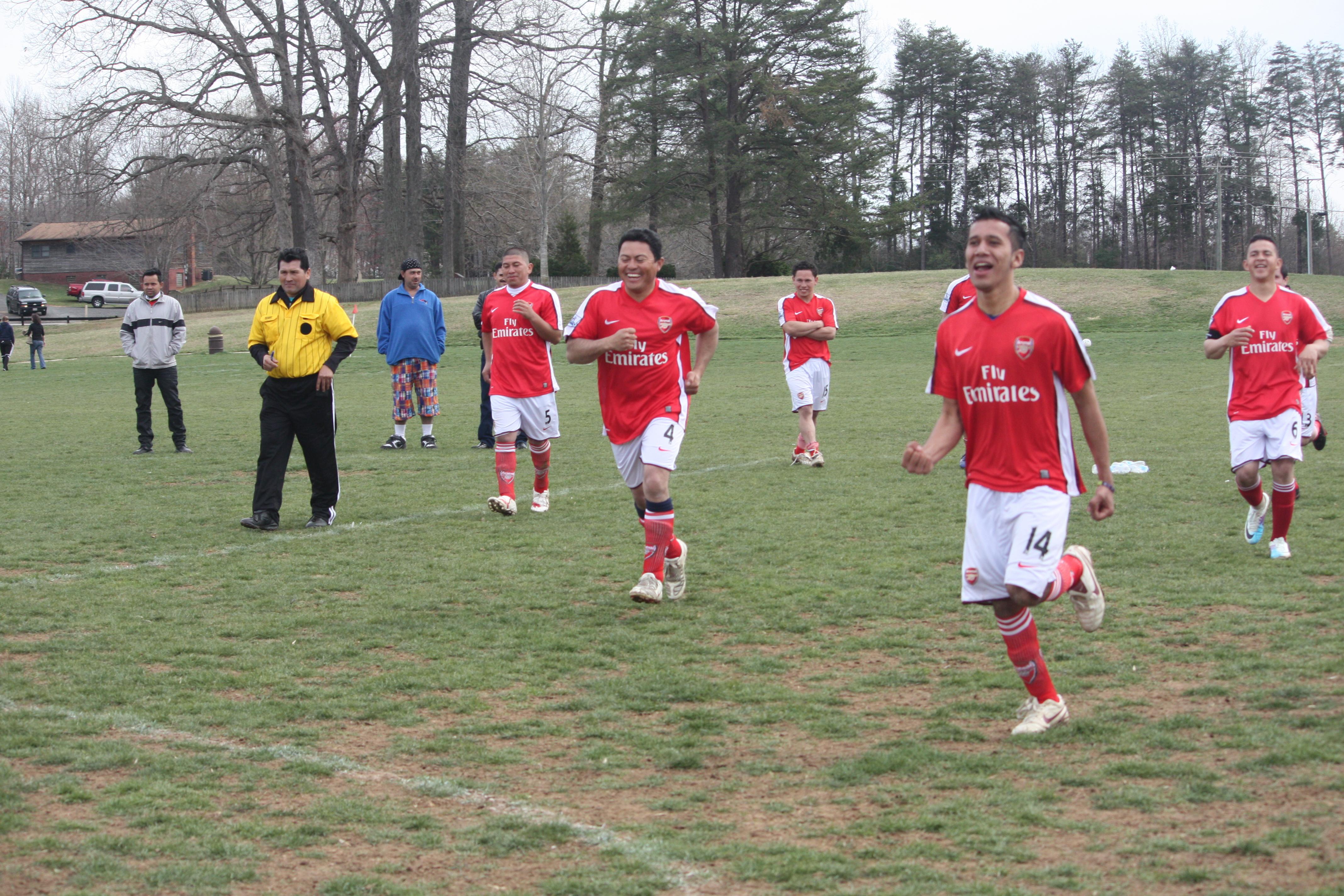 Arsenal e Internacional Campeones del Relámpago en Liga Woodbridge
