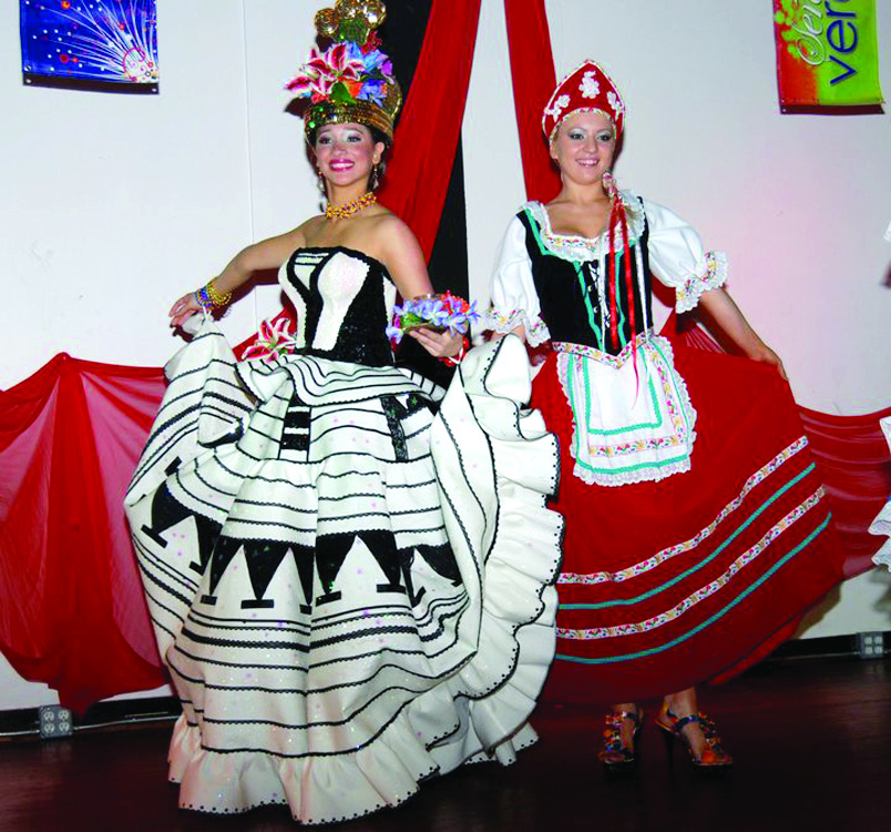 Belleza latina en pro de evento benéfico