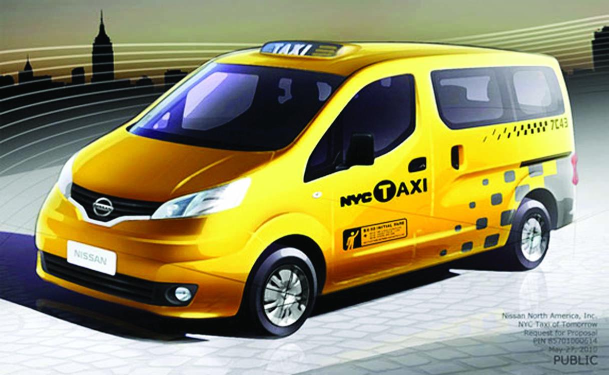 El Nissan NV200 es el Taxi del Mañana de Nueva York