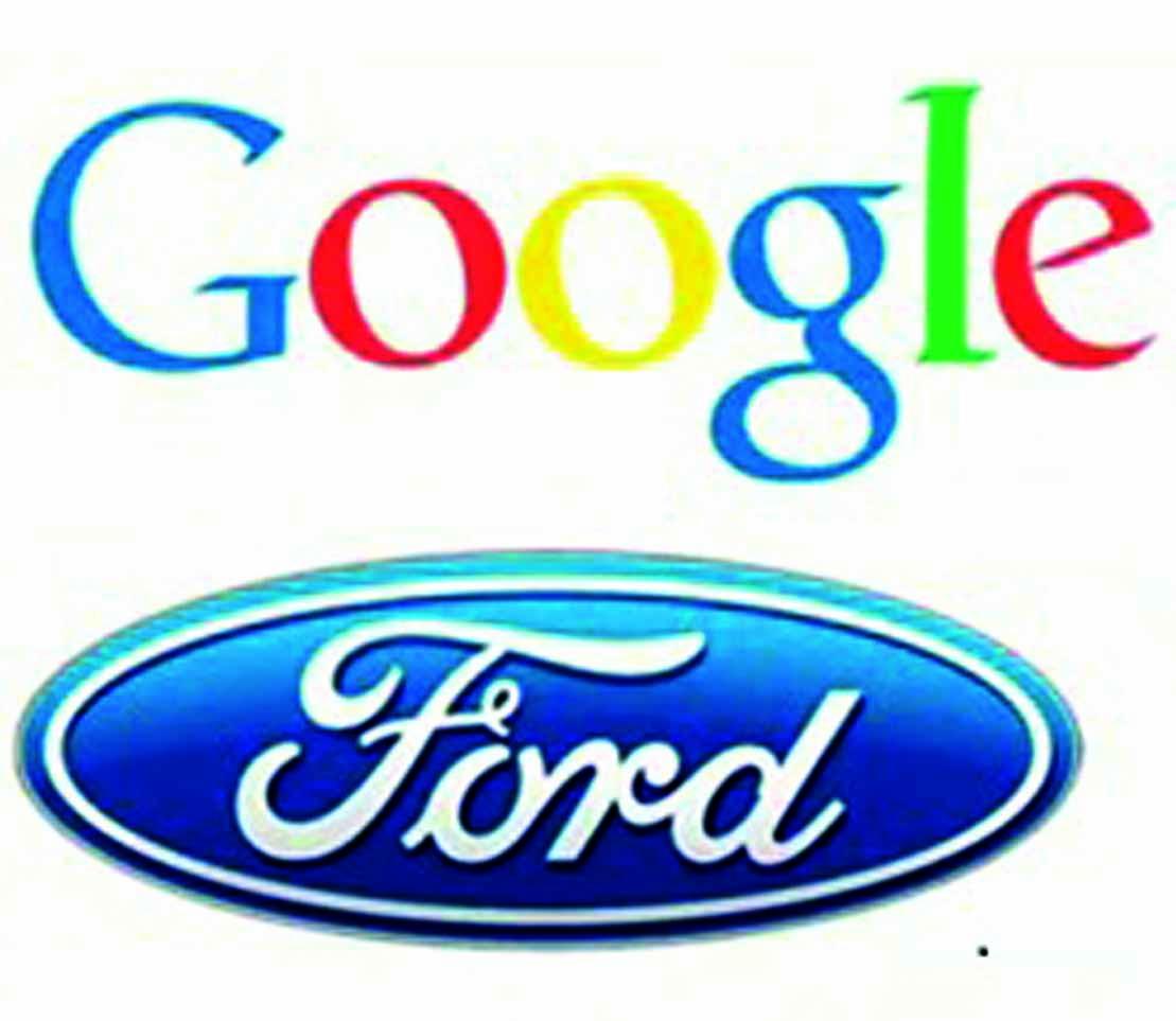 Google y Ford desean crear autos inteligentes