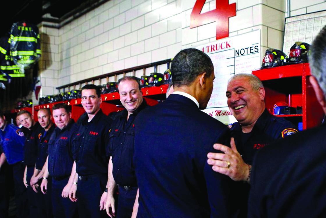 """""""Nunca olvidaremos"""" dice Obama en Zona Cero"""