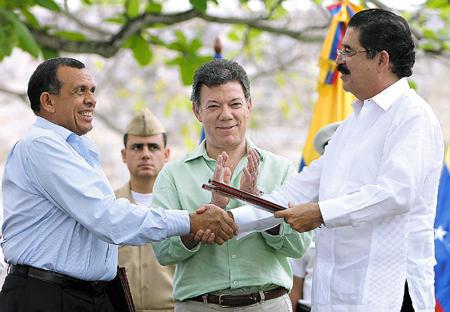 Mel Zelaya de regreso a Honduras