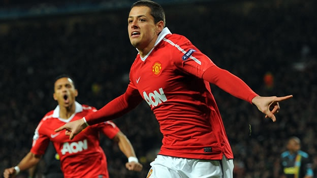 'Chicharito' Hernández, uno de los más productivos del Manchester United