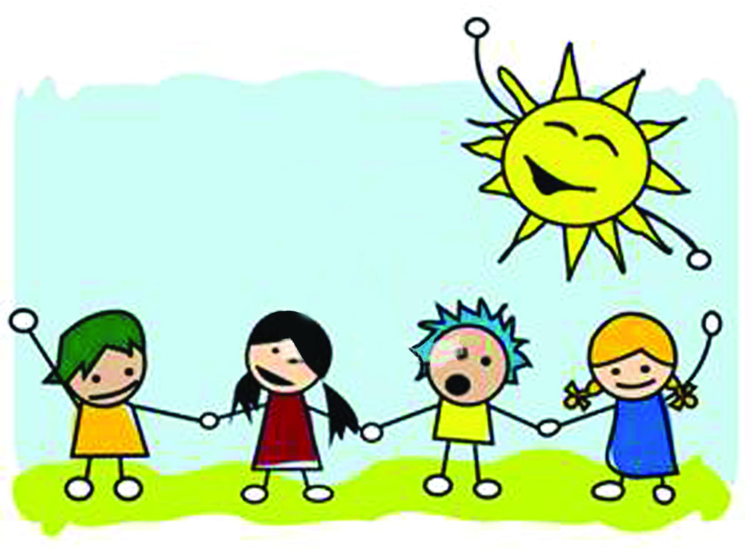 No exponga a los niños por mucho tiempo al sol