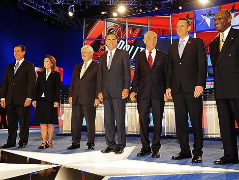 Candidatos republicanos a la Casa Blanca critican la gestión de la crisis
