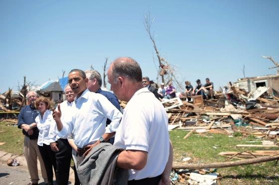 Obama ofrece total ayuda para afectados por tornados