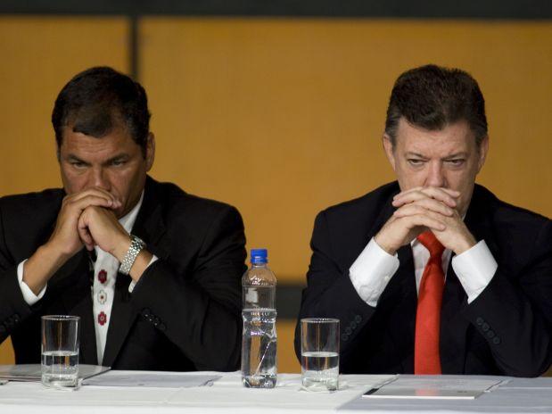 """Santos: """"Ataque en Ecuador lo autoricé yo"""""""