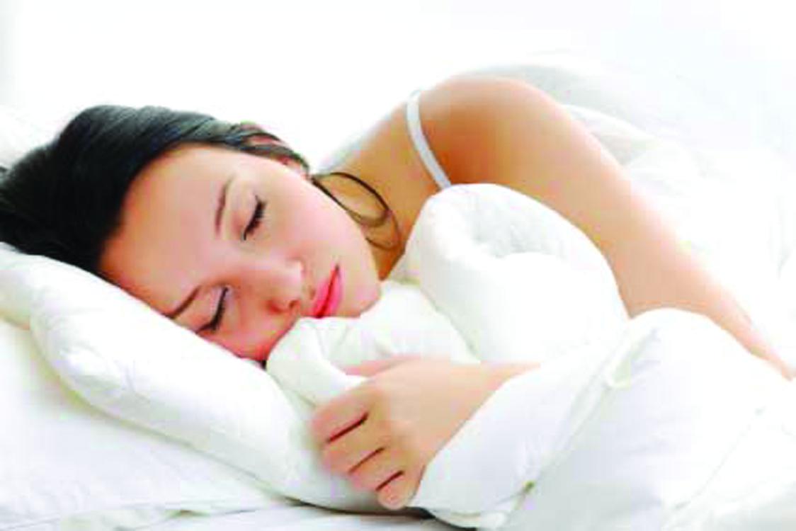 Duerma… pero lo necesario
