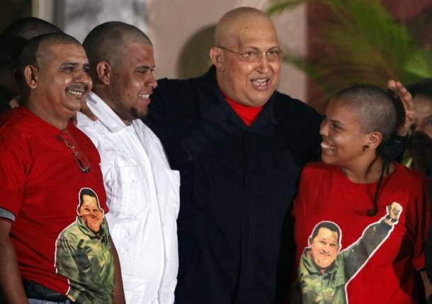Se rapan en solidaridad con Hugo Chávez