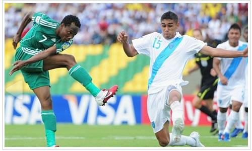 Sub 20 de Guatemala goleada en Colombia