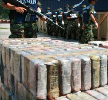 El Salvador incluido  en lista negra de países productores o utilizados para el narcotráfico