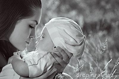 El perfil de una madre