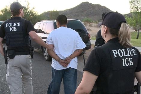Récord en detención de inmigrantes ilegales