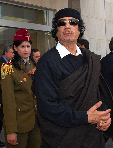 Las últimas voluntades de Gadafi