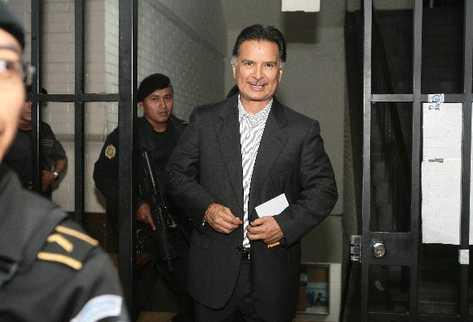 Colom decidirá si Portillo es extraditado a EE.UU.