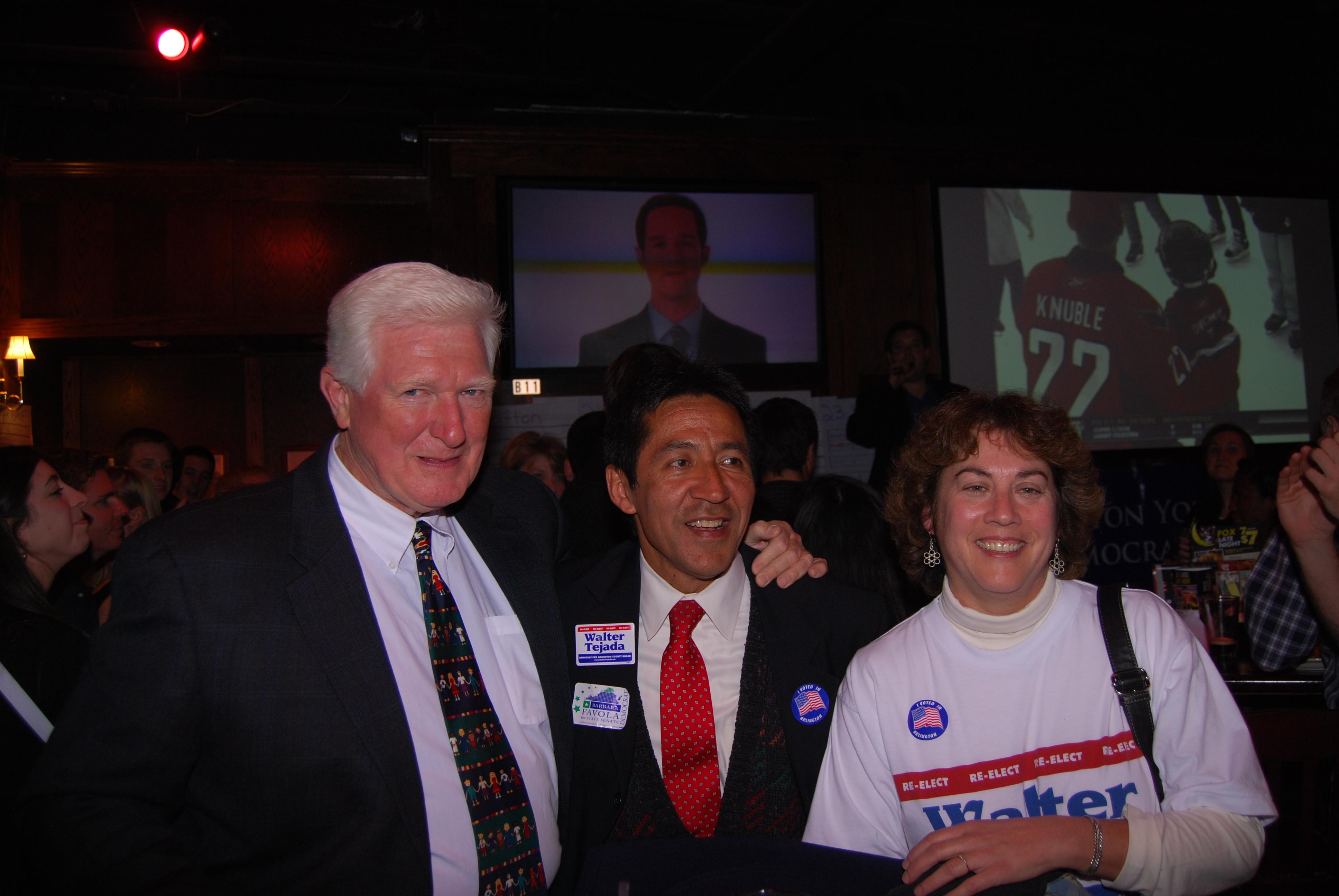 Walter Tejada reelecto en Arlington