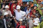 Nueve mineros son rescatados luego de seis días bajo tierra