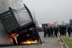 Un choque entre manifestantes y militares de Guatemala se torna mortal