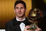 Messi logra su cuarto Balón de Oro