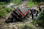 Accidente de bus deja 45 muertos en Guatemala