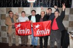 Salvadoreños en Washington celebran triunfo del FMLN