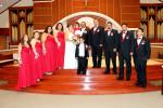 Evilia Castro y José Andrés unen sus vidas en matrimonio
