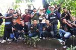 Pandilleros armados con fusiles y escopetas