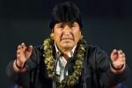 Evo Morales con triunfo holgado