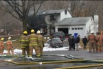 Seis personas mueren al estrellarse avión contra una casa en Gaithersburg, Maryland