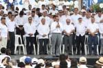 Salvadoreños marchan por la paz, la vida y la justicia