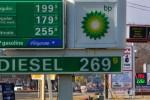 Precio del petróleo muy bajo