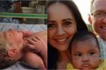 Madre salvadoreña recuperó a su bebé intercambiado al nacer