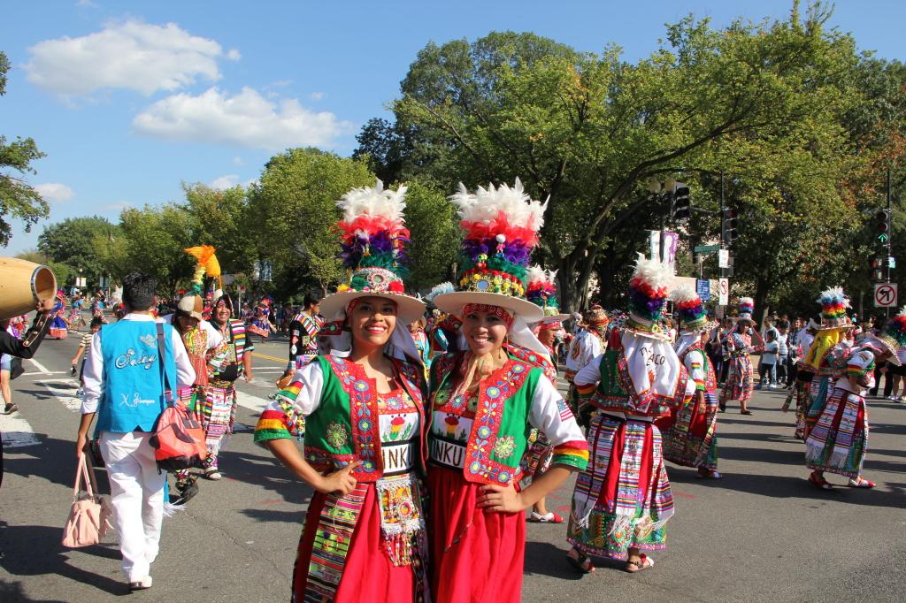 La representación Boliviana en el evento