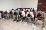 Condenan a 14 pandilleros por extorsión y otros delitos