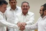 El gobierno de Colombia y las FARC firman un acuerdo para alcanzar la paz