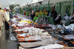 Unos 717 muertos y 805 heridos en estampida en La Meca