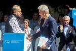 Bill Clinton y Carlos Slim con proyectos en El Salvador