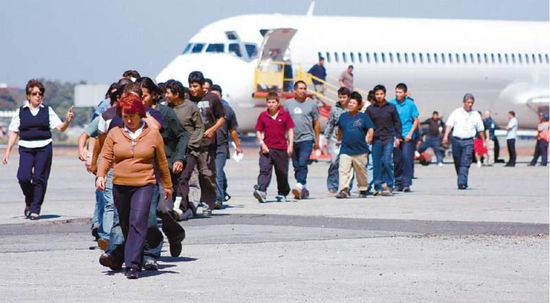 Honduras y Guatemala han recibido a deportados