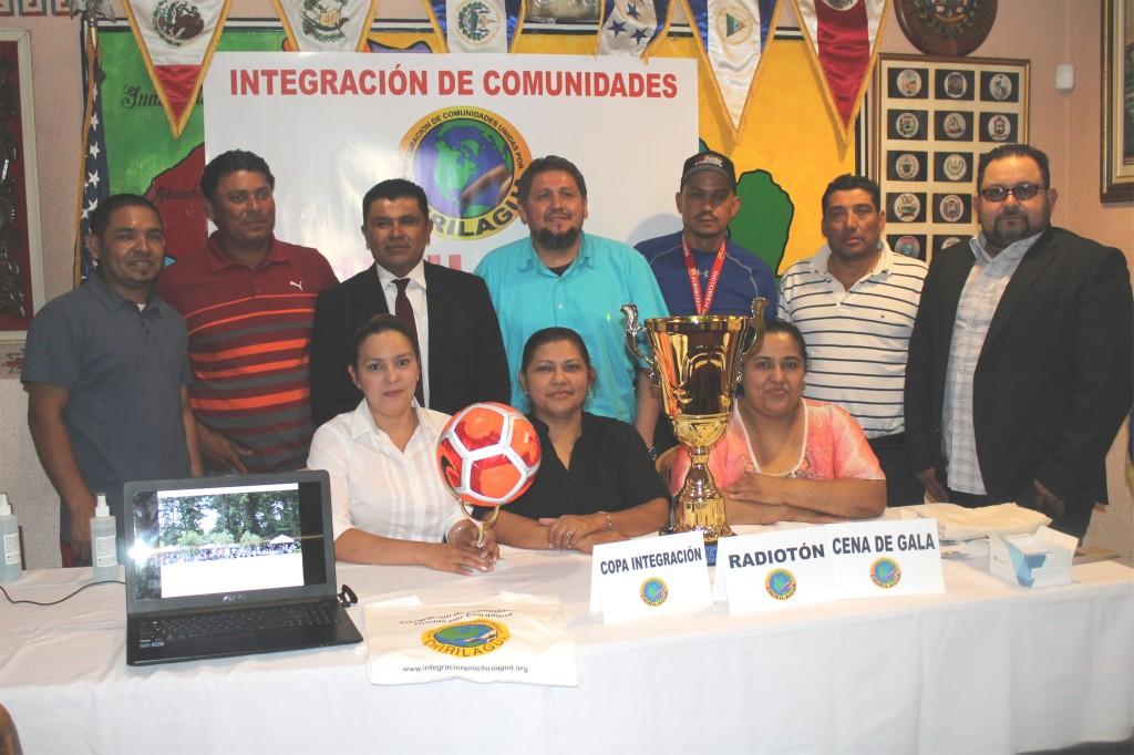 Comité de Integración en la presentación de la copa