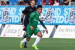 Salvadoreño Andrés Flores jugador de la semana