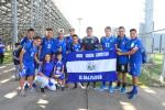Selección sub 20 de El Salvador perdió frente a campeón de ligas locales de Virginia