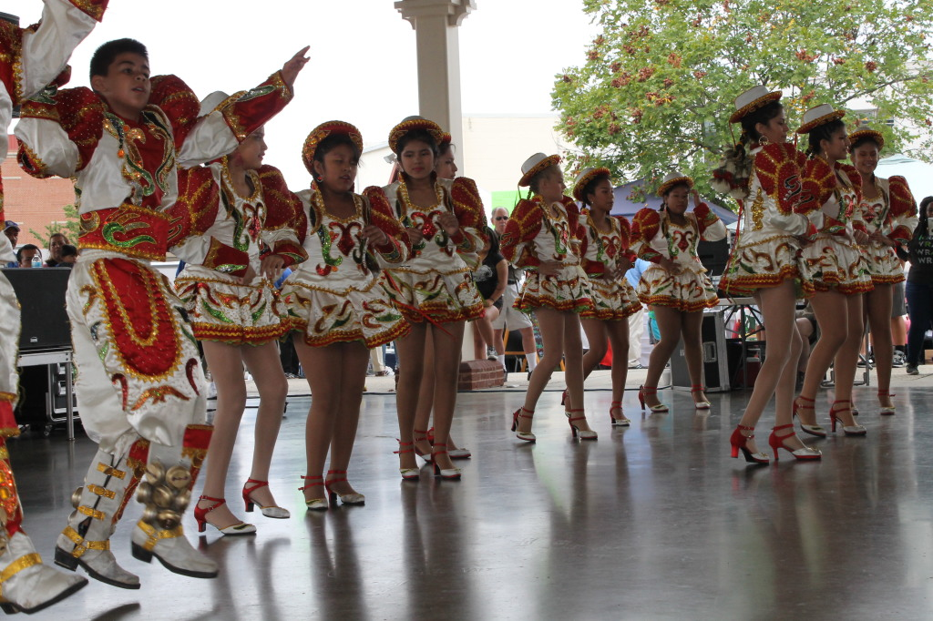 El folclore de bolivia presente