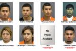 Nueve jóvenes latinos arrestados por crimen
