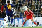 Messi y Ronaldo destacan en la Champions